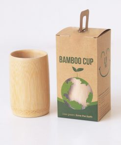Produce bamboo cups and print on demand